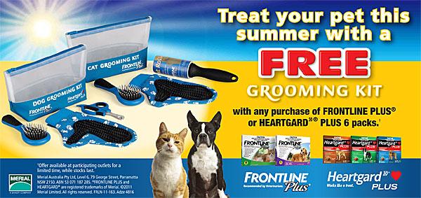 FREE Grooming Kit