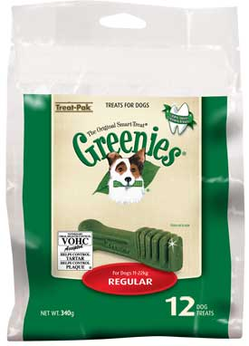 Two-for-One offer on Greenies TreatPak regular