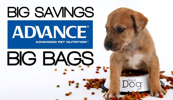 Save $20 on BIG bags of ADVANCE Premium Pet Foods