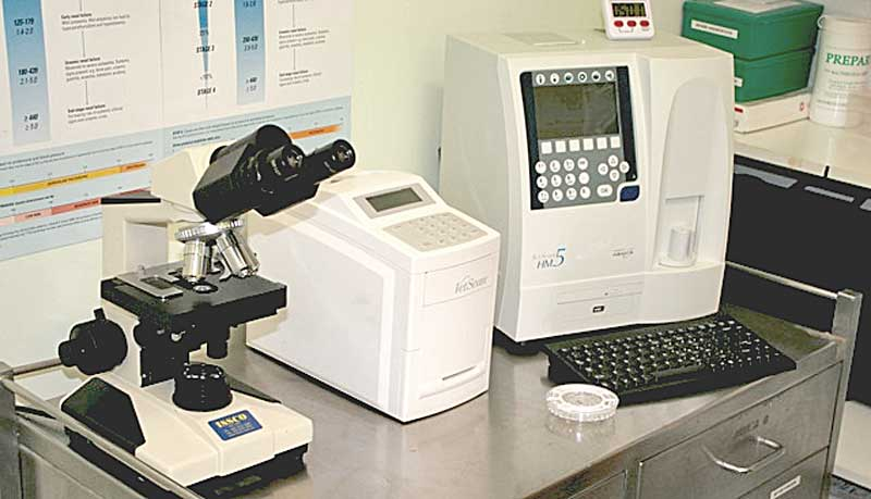 The VetScan HM5 — a fully-automated 5-part differential cell counter specifically designed for veterinary applications